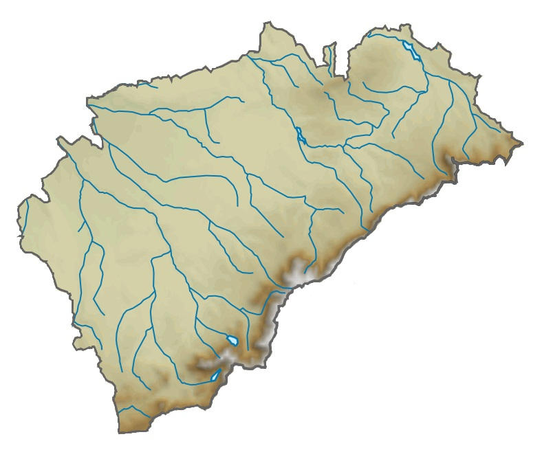 Provincia De Segovia Mapa.Archivo Provincia De Segovia Relieve Jpg Wikipedia La