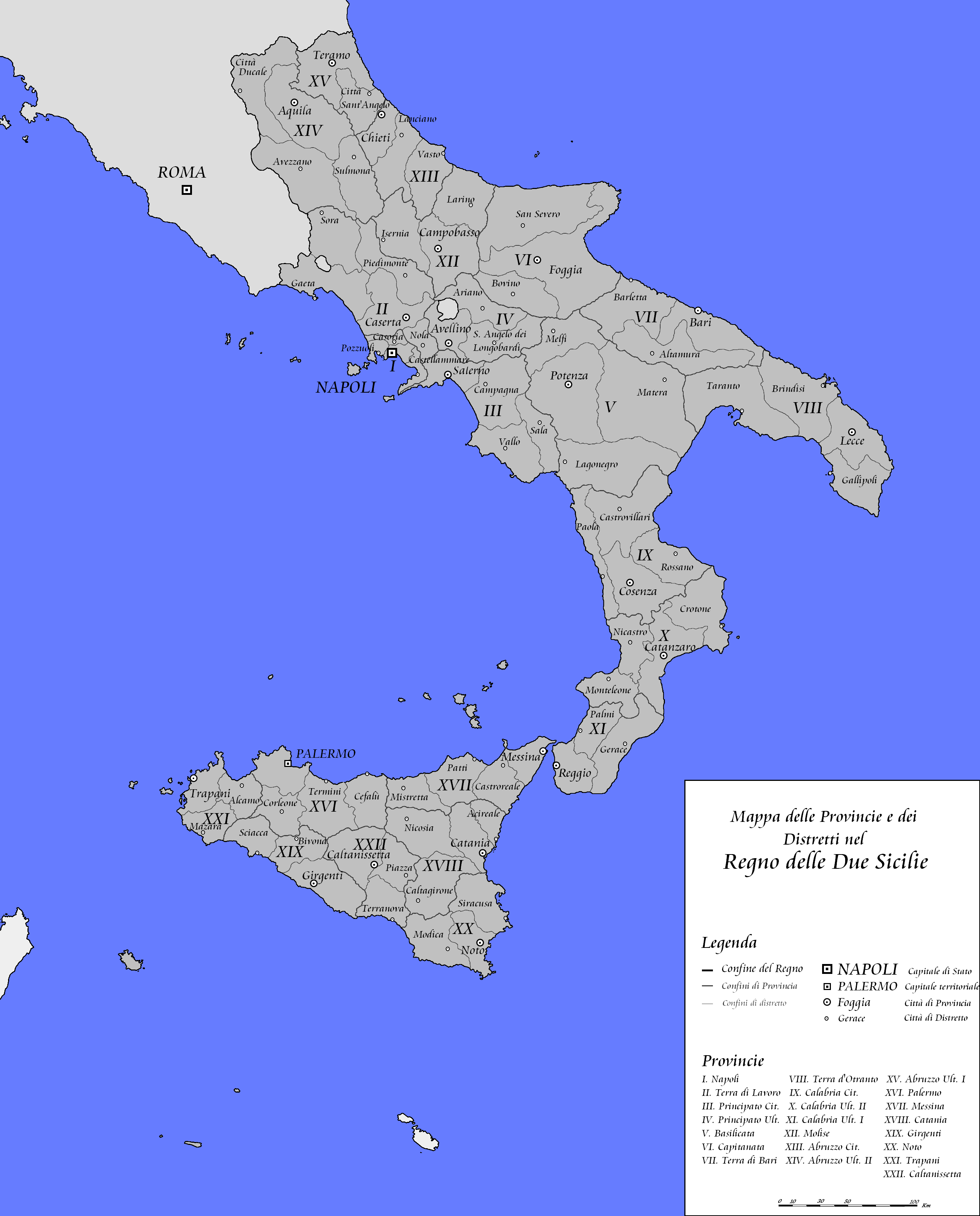 THE REIGN OF THE TWO SICILIES