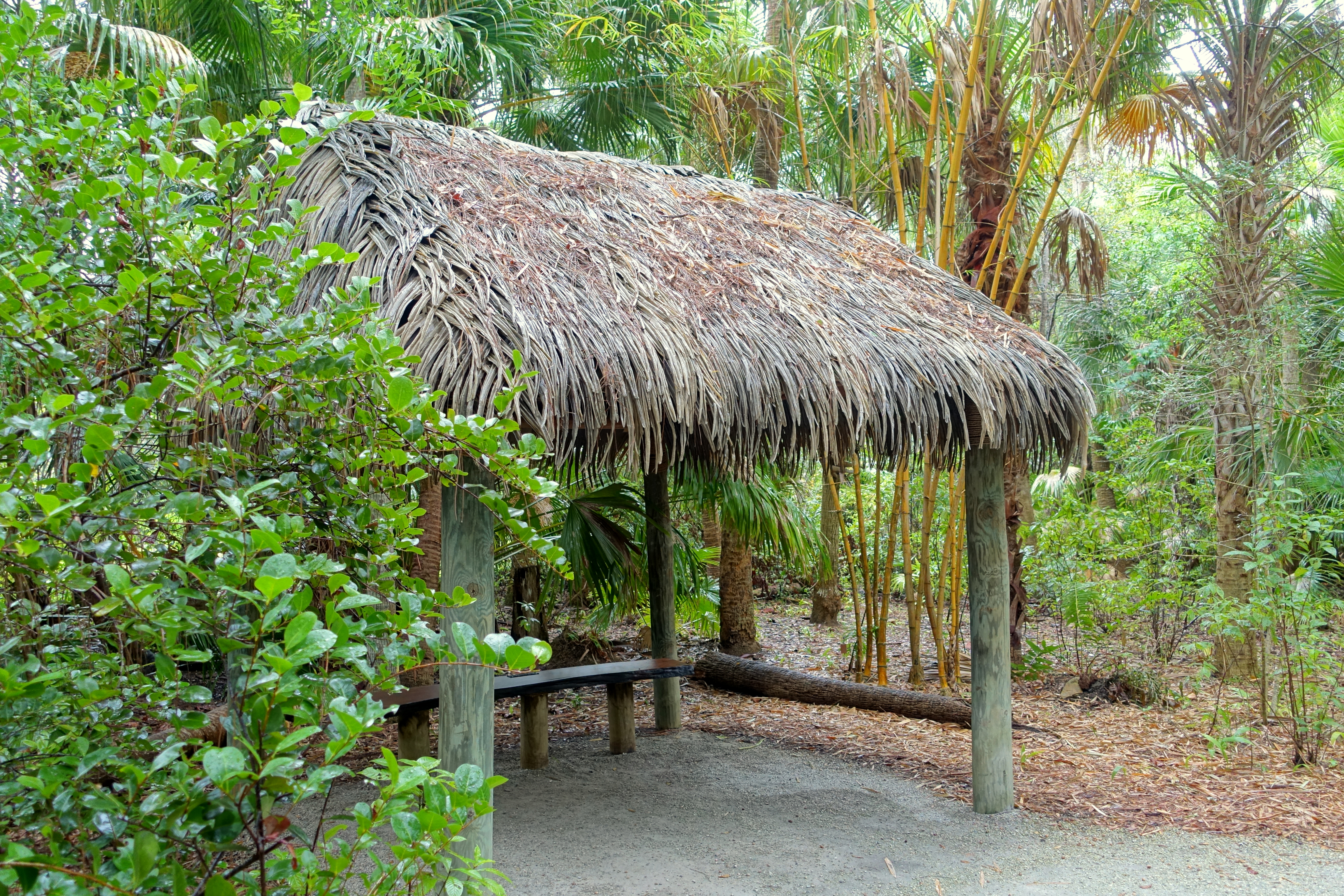 File:Rain shelter - McKee Botanical Garden - Vero Beach, Florida ...