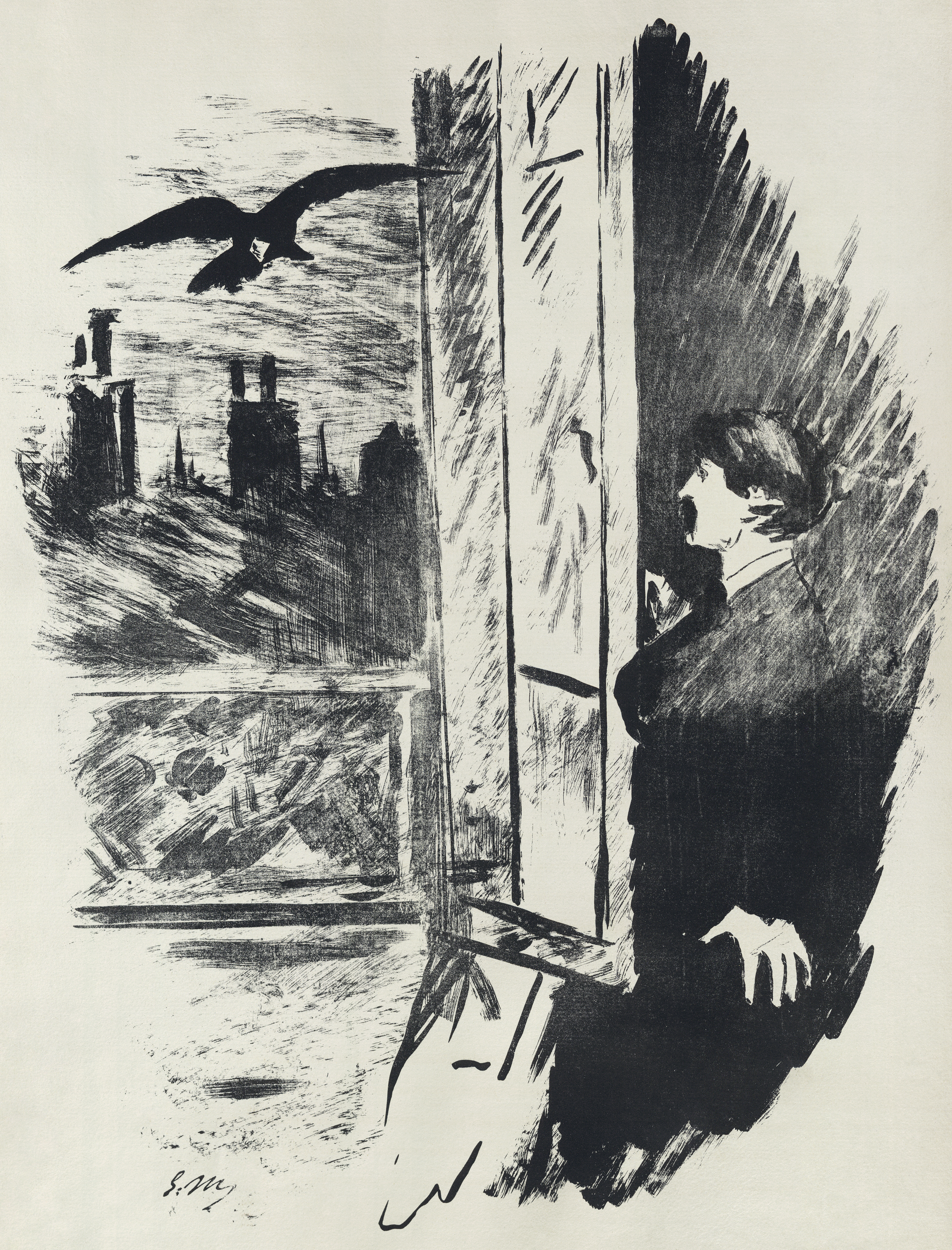 the representation of poes own crisis on edgar allan poes the raven 13062018 the main themes of edgar allan poe's narrative poem the raven are undying  in poe's own words, he decided upon the raven as the poem's primary.