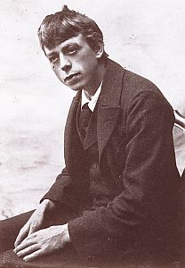 Robert Walser in the 1890s