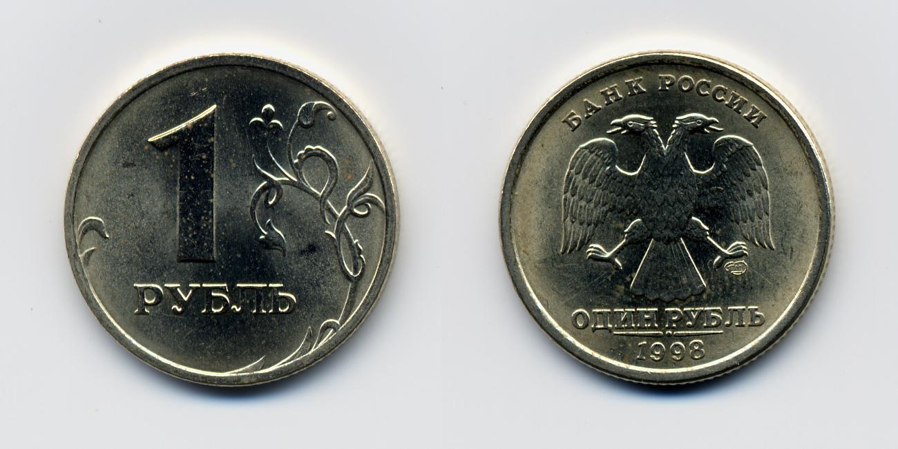 График изменений курса 1 Российского рубля к Евро