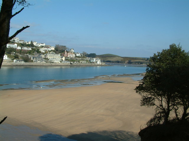 Salcombe and Mill Bay beach - geograph.org.uk - 413508