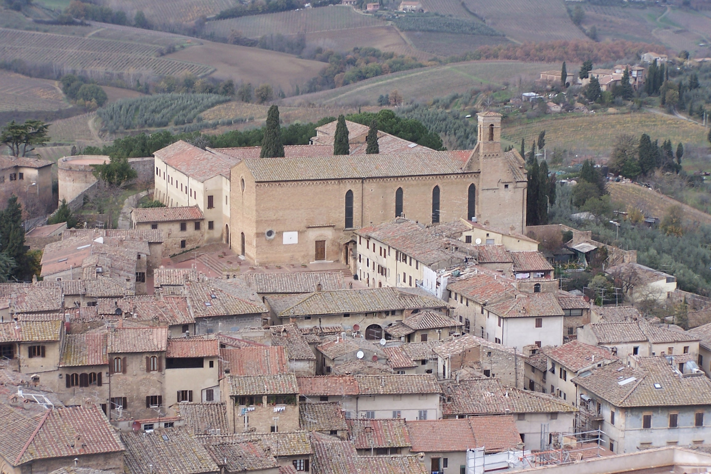 San Gimignano, view from the Torre Grossa