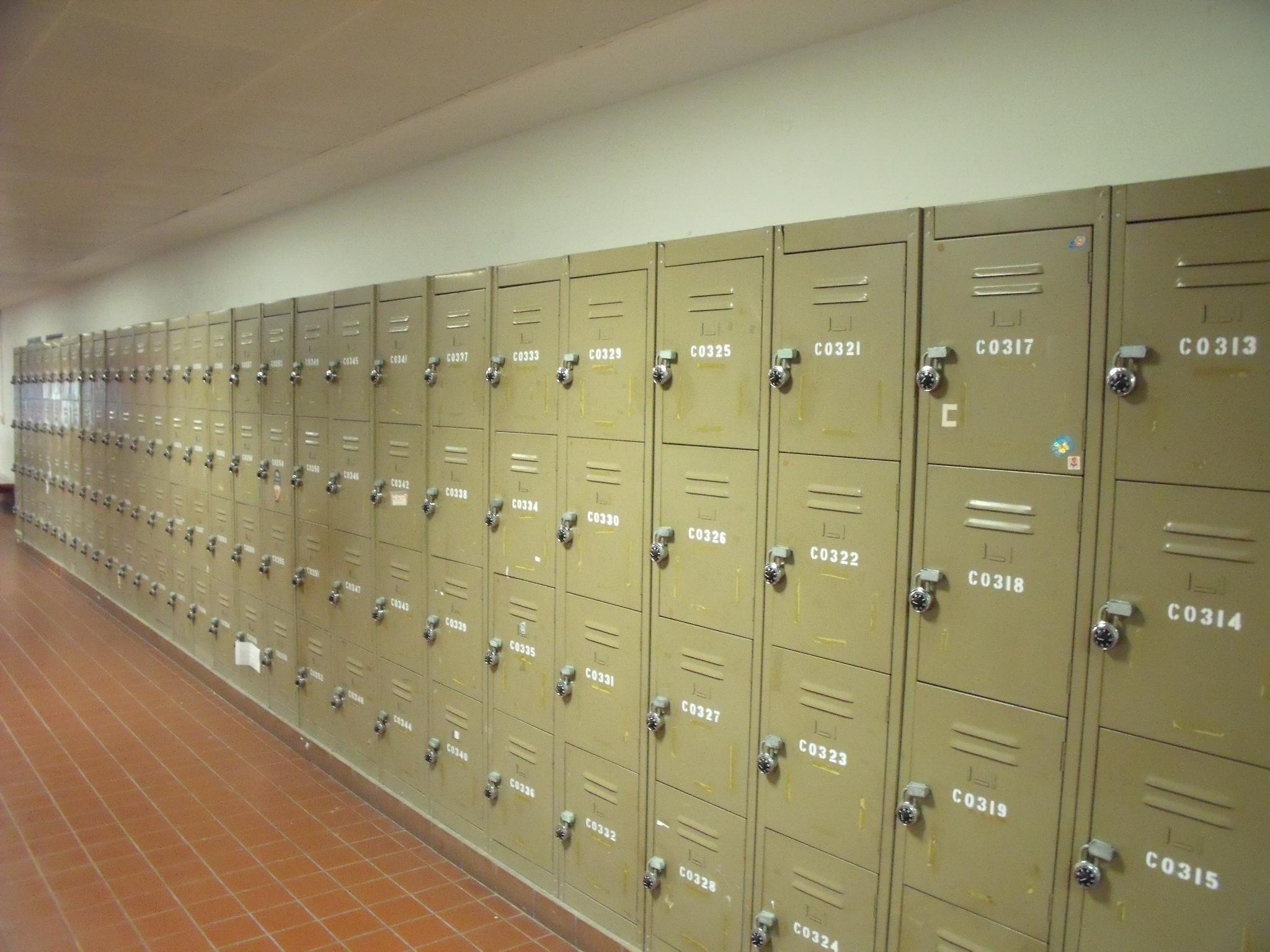 School Locker Room Fight