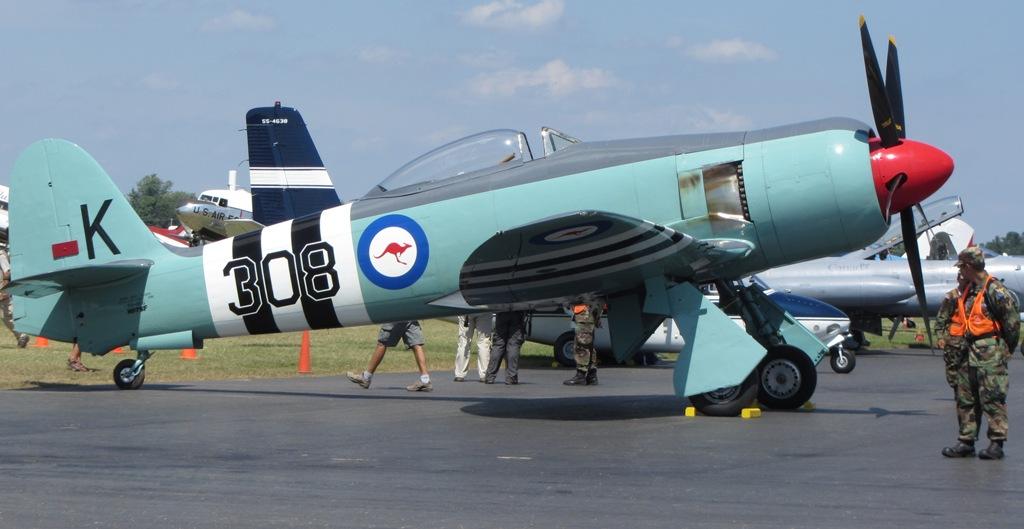 Hellcat For Sale >> List of Hawker Sea Fury operators - Wikipedia