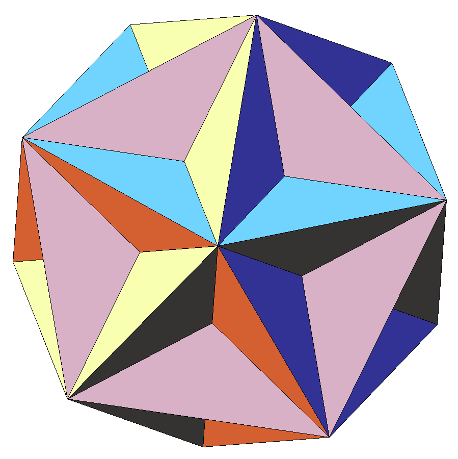 image of Poinsot's great dodecahedron
