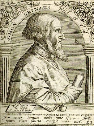 Simon Grynaeus (1493-1541)
