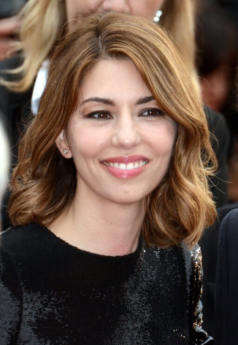 The 46-year old daughter of father Francis Ford Coppola and mother Eleanor Neil, 166 cm tall Sofia Coppola in 2017 photo