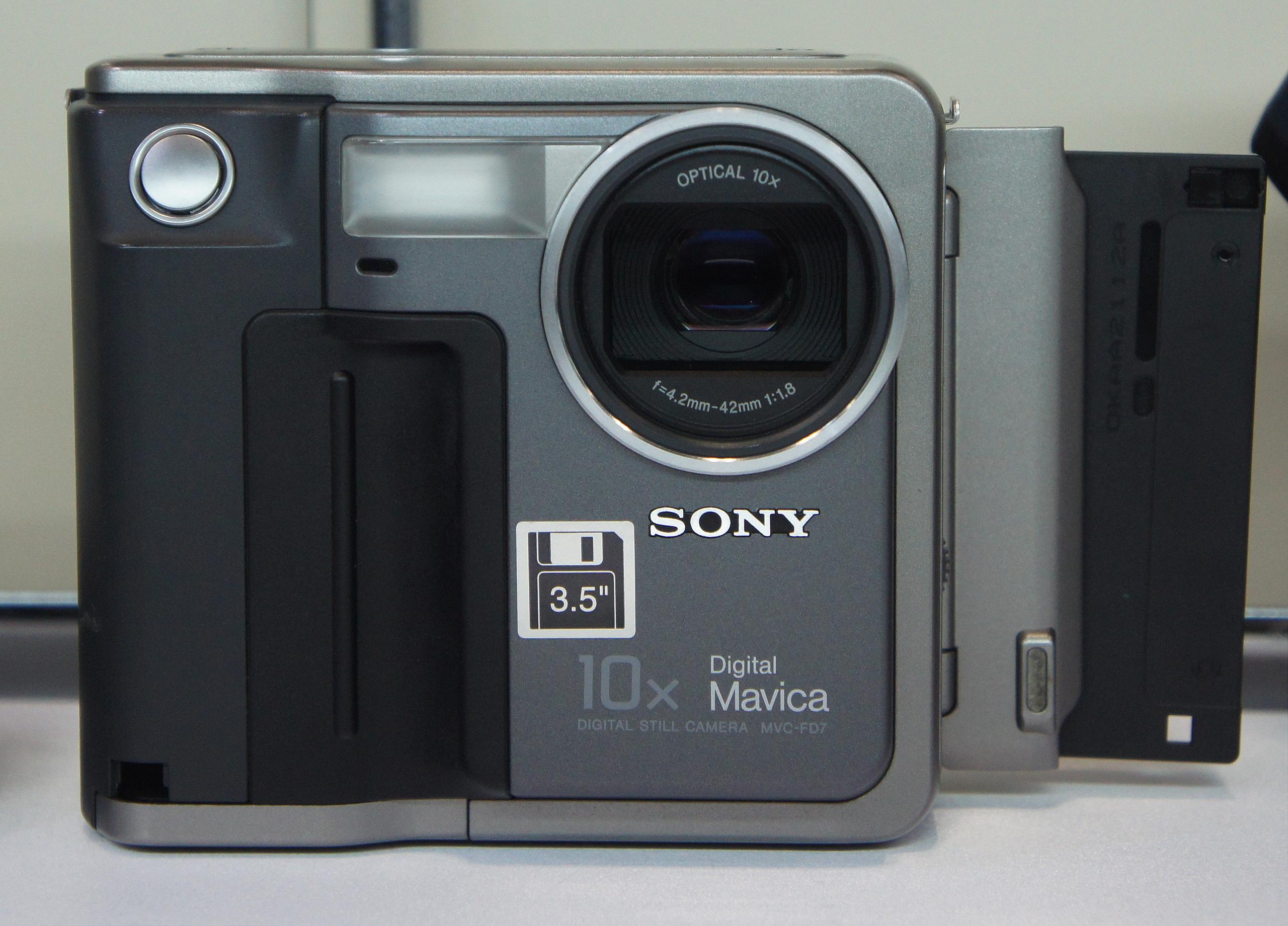 Mavica Sony, Walkman, Camera
