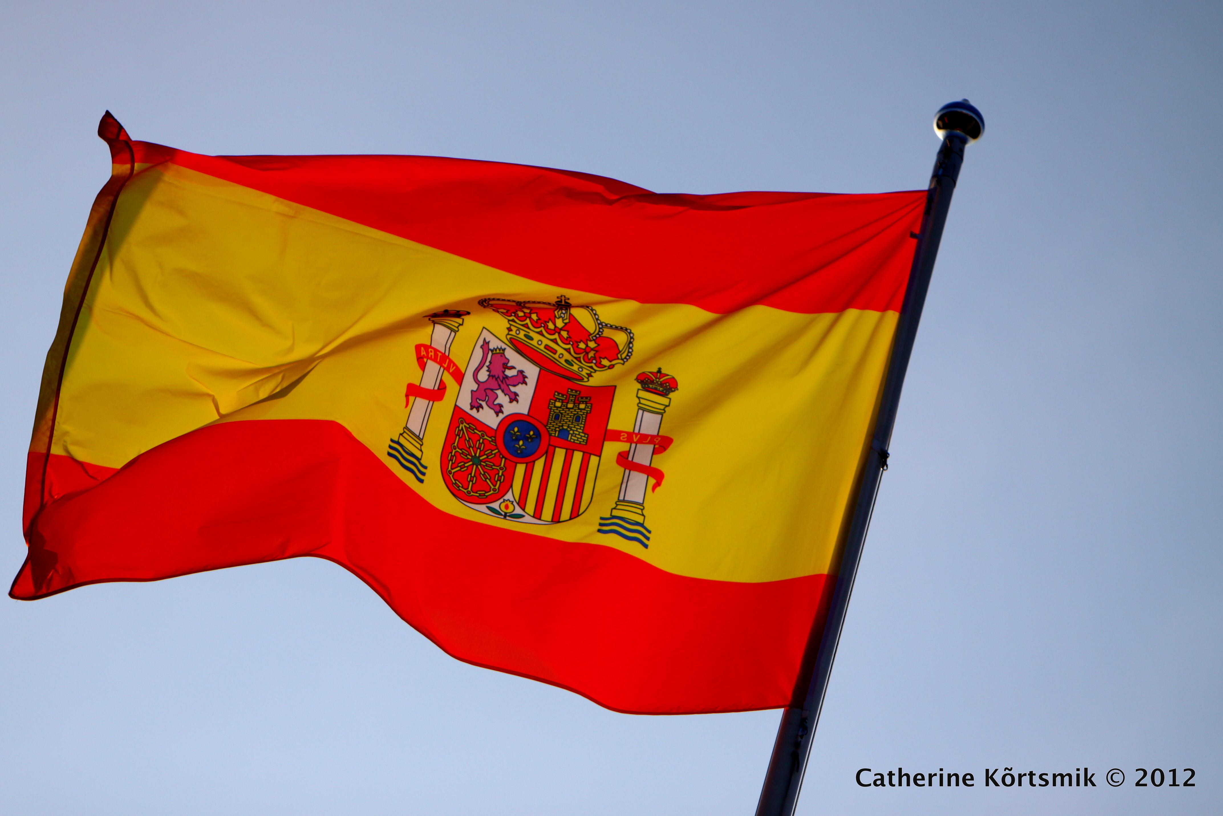 file spain flag waving jpg wikimedia commons