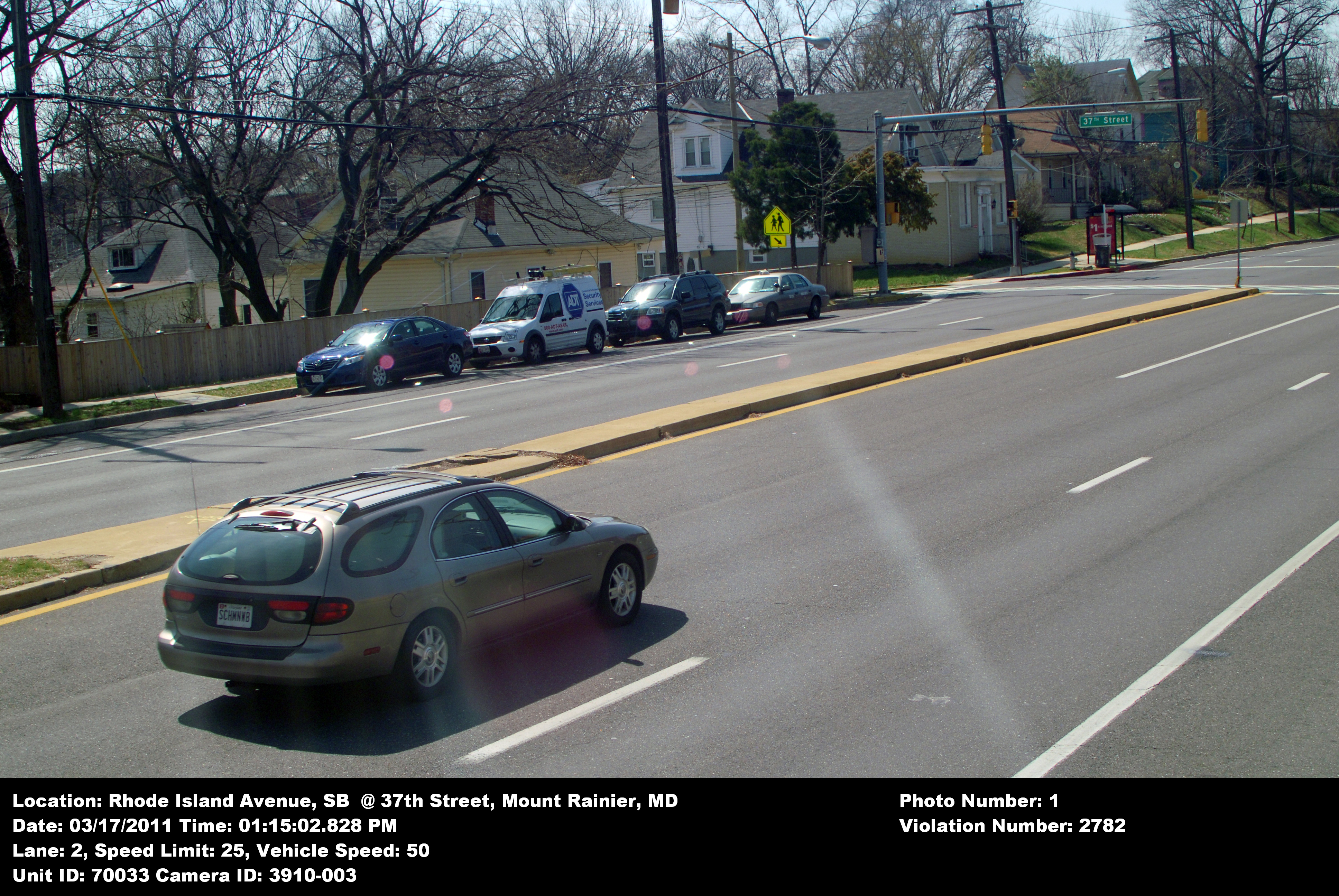 File:Speed camera in Mount Rainier, Maryland demonstrating speed ...