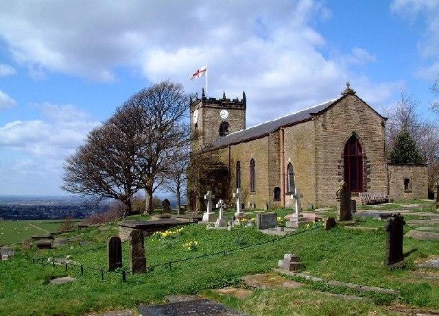 St. Thomas' Church, Mellor - Wikipedia