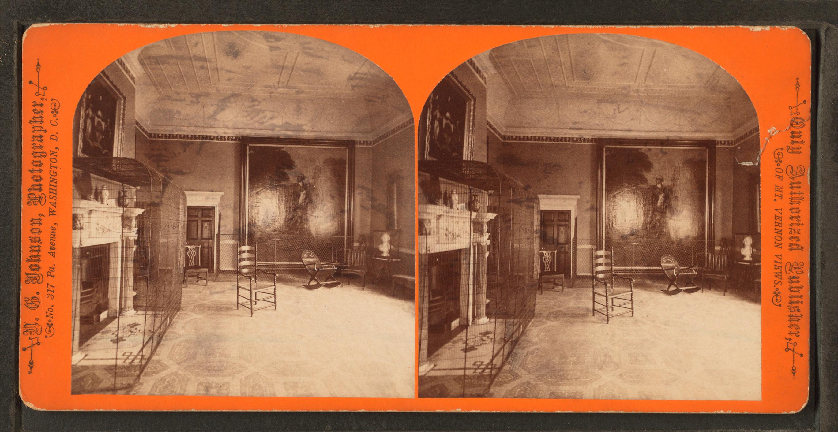 File:State dining room, Mount Vernon mansion, by N. G. Johnson.jpg ...
