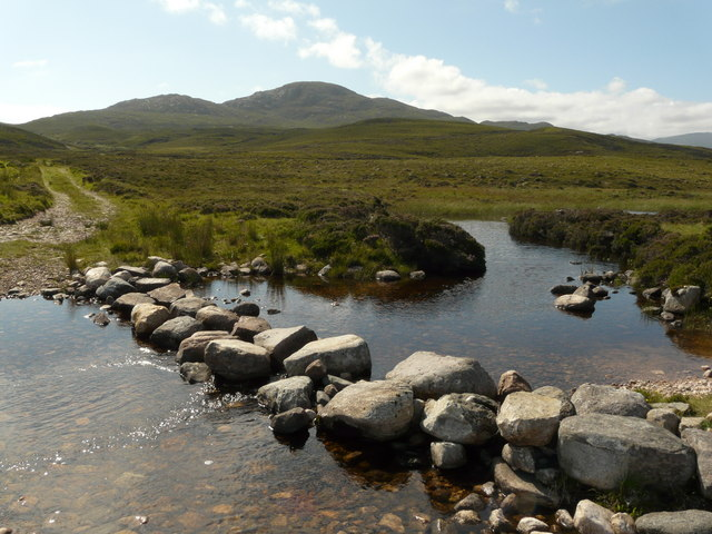 File:Stepping stones on the Allt Smoo, by Durness - geograph.org.uk - 922020.jpg