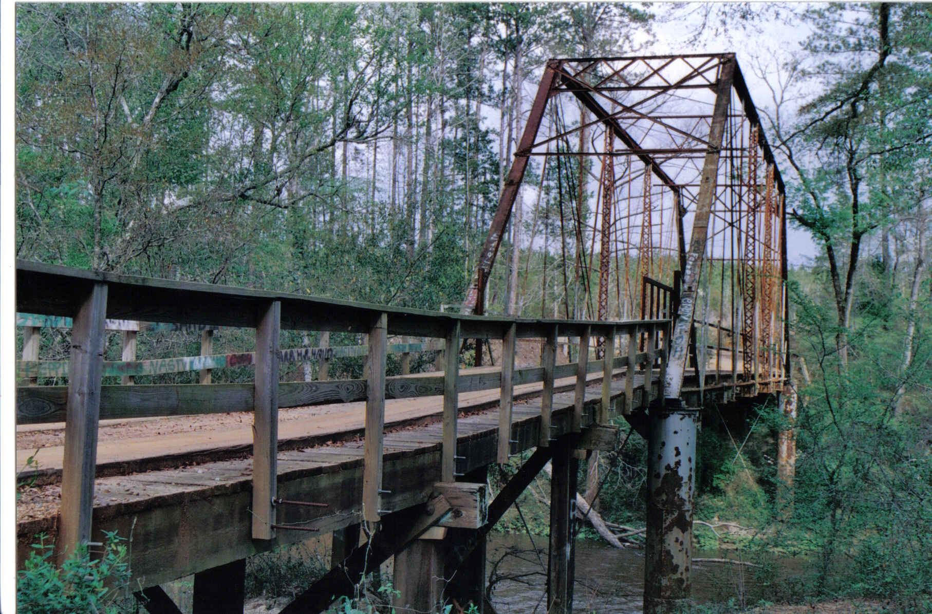 how to build a bridge across a river
