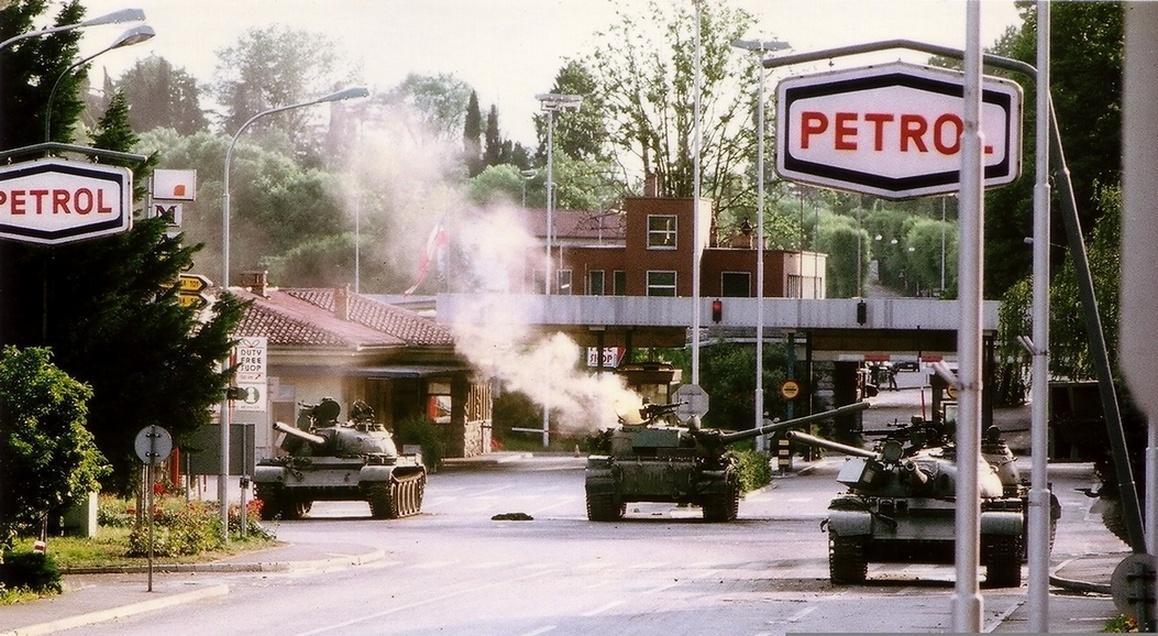 Slobodan Praljak Wiki >> Рат у Словенији — Википедија, слободна енциклопедија