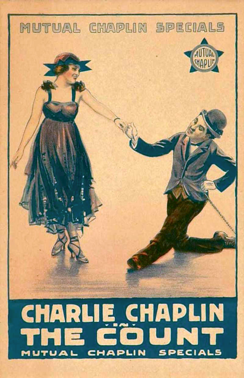 Charlie Chaplin in THE COUNT