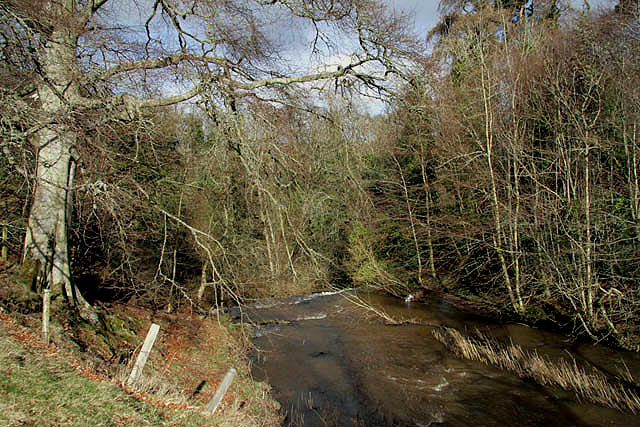 The Eden Water - geograph.org.uk - 1198343