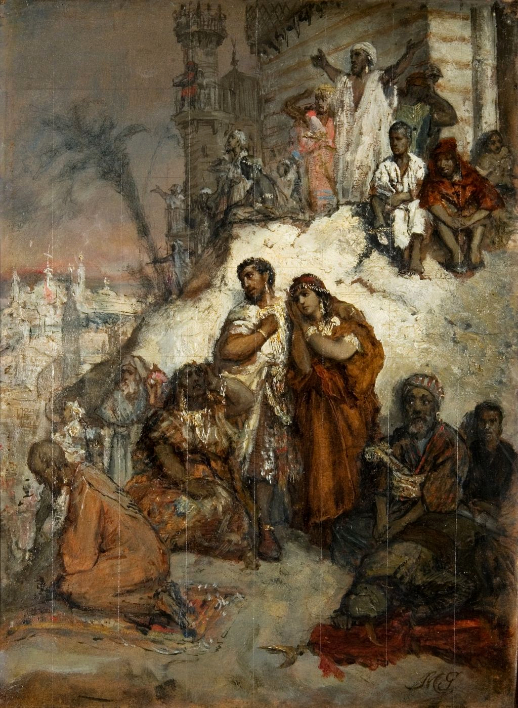 File:The Exile Of The Moors From Granada jpg - Wikimedia Commons