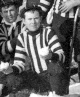 "Collingwood player Tom Nelson wrote the lyrics to ""Good Old Collingwood Forever"" in 1906. Tom Nelson 1906.jpg"