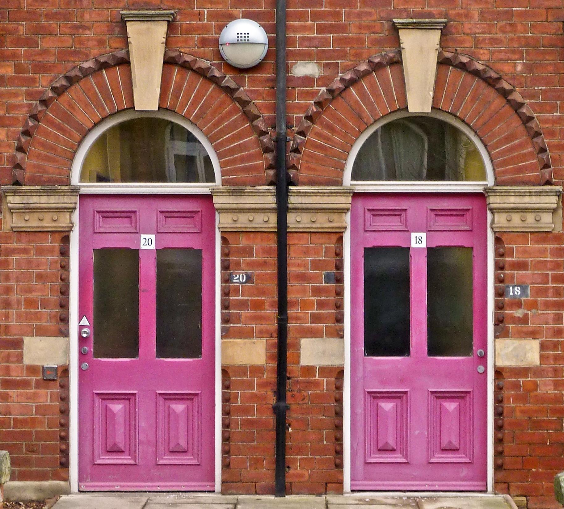FileTwo Pink Doors Cromer Terrace Leeds (Taken by Flickr user 5th & File:Two Pink Doors Cromer Terrace Leeds (Taken by Flickr user ...