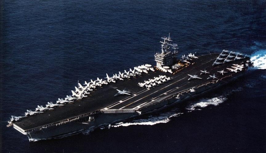 File:USS Nimitz... Indian Navy Aircraft Carrier