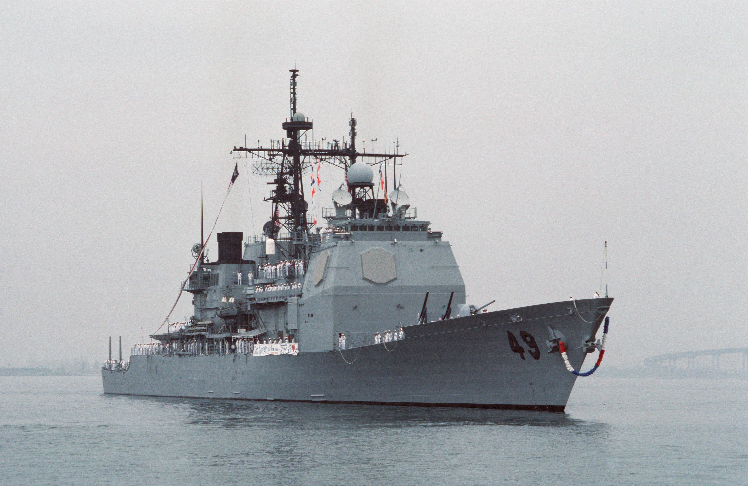 Federal Pay Chart: USS Vincennes returns to San Diego Oct 1988.jpg - Wikimedia ,Chart