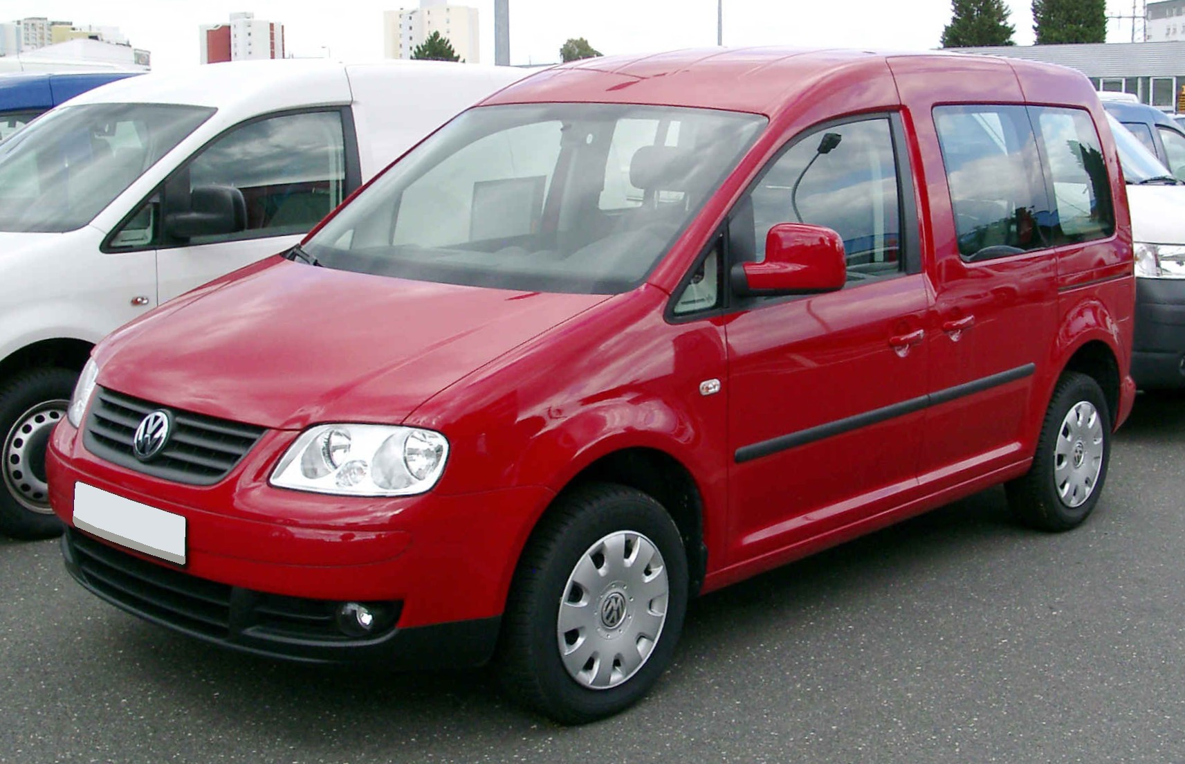 file vw caddy iii life front wikimedia commons. Black Bedroom Furniture Sets. Home Design Ideas