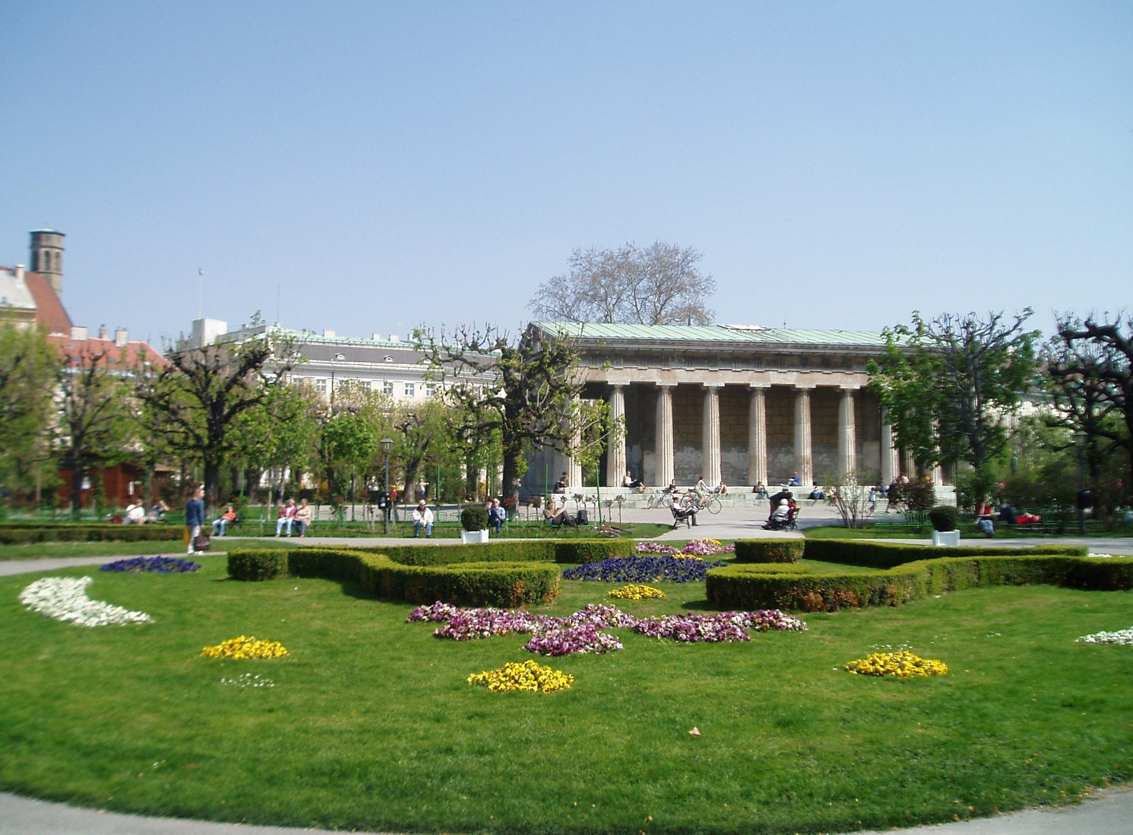Volksgarten De Viena Wikipedia La Enciclopedia Libre