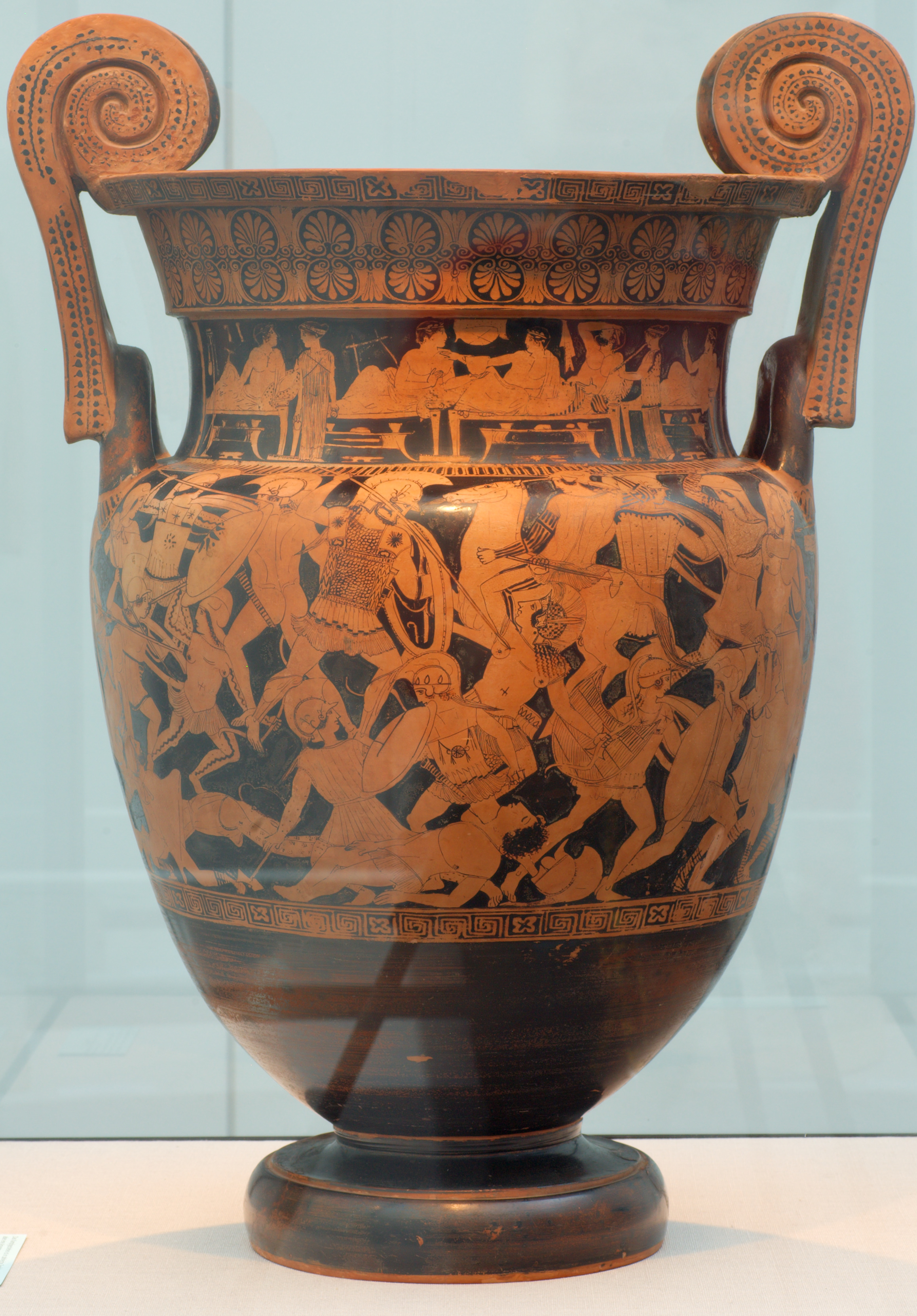 File Volute Krater 450bc Battle Amazons Painter Of