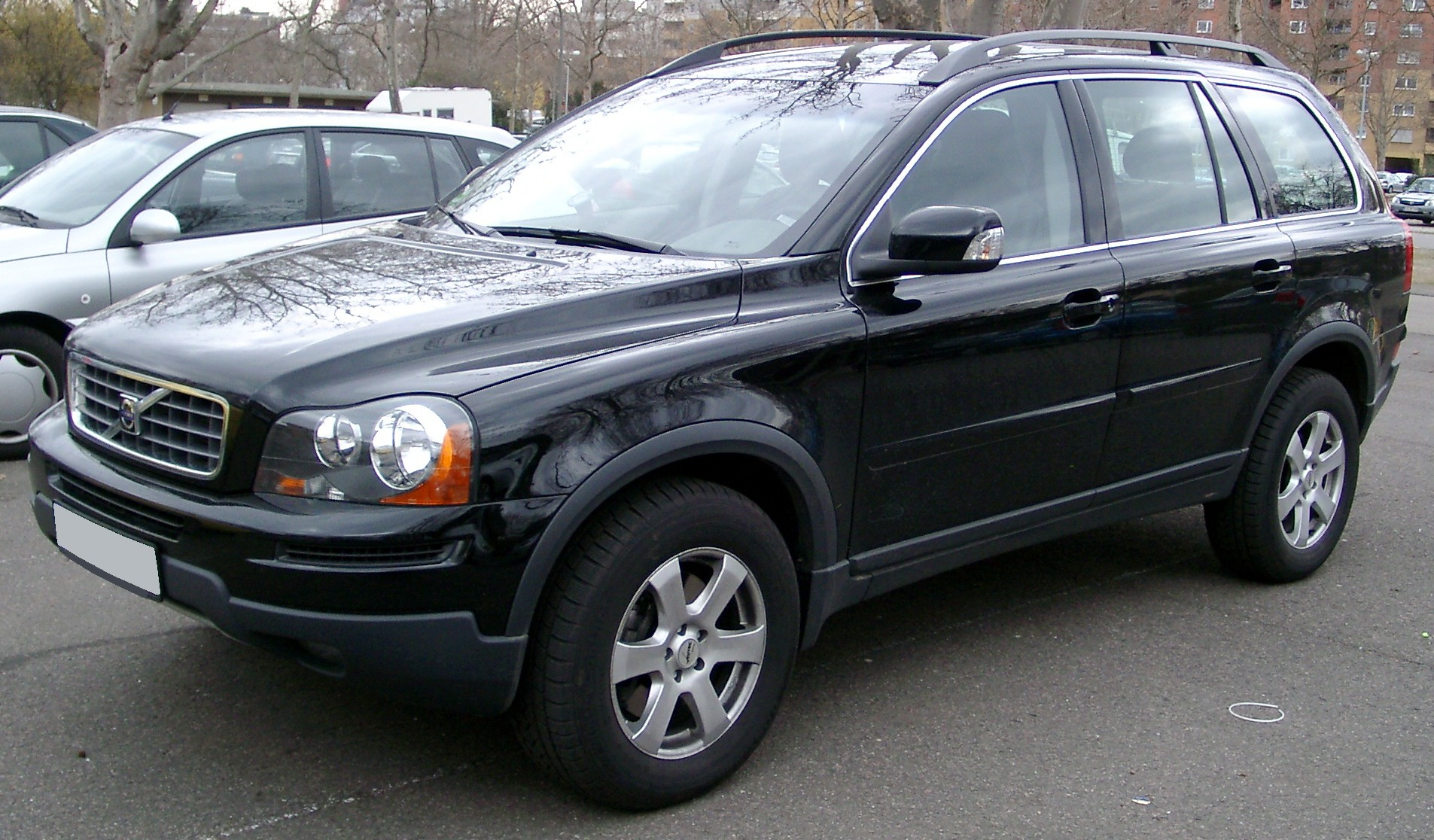 File Volvo Xc90 Front 20080226 Jpg Wikimedia Commons