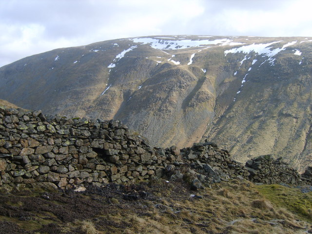 Wall Under Red Screes - geograph.org.uk - 1763129