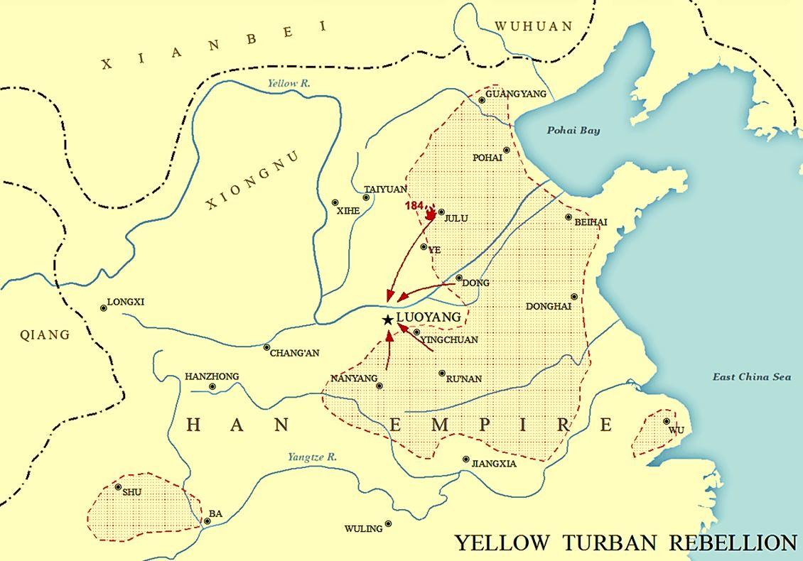 黄巾の乱 - Wikipedia