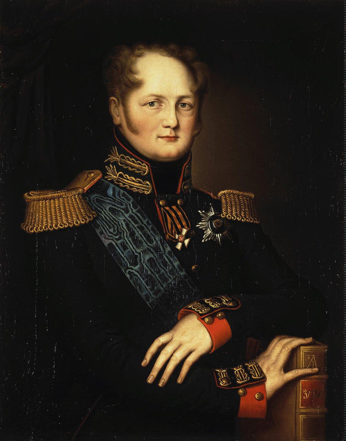 Emperador Alejandro I de Rusia. Obra de autor desconocido, s. XIX.