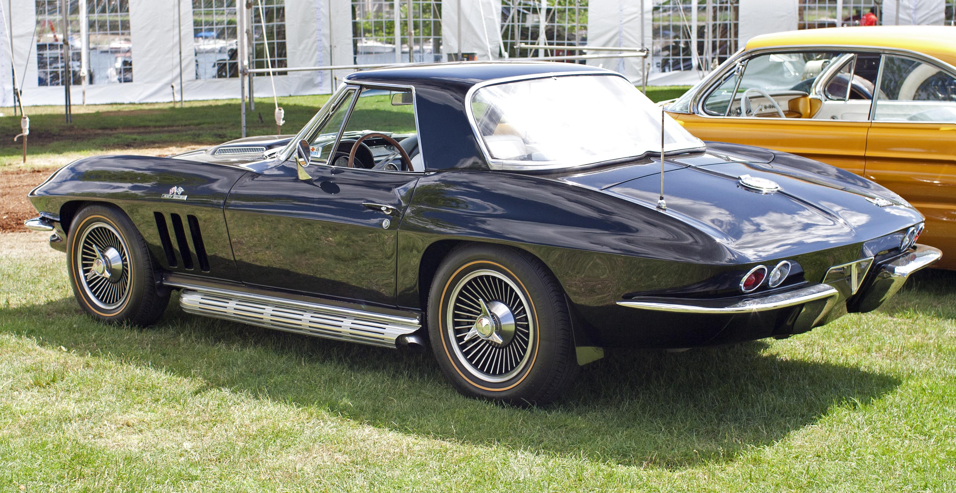 File 1966 Chevrolet Corvette 427 390hp Roadster Hardtop