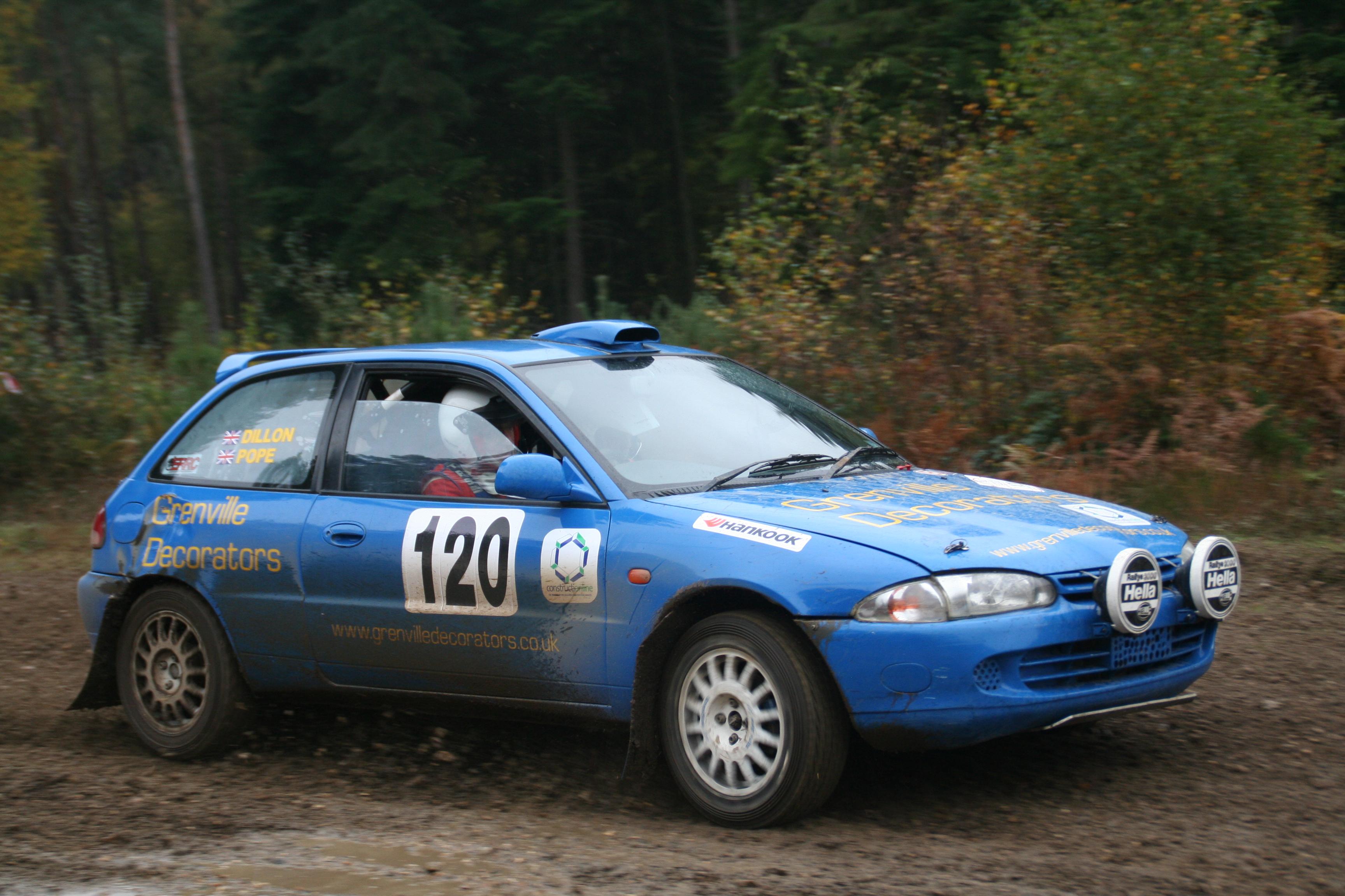 File 1996 Proton Compact 1 6 Rally Car In The United Kingdom 01
