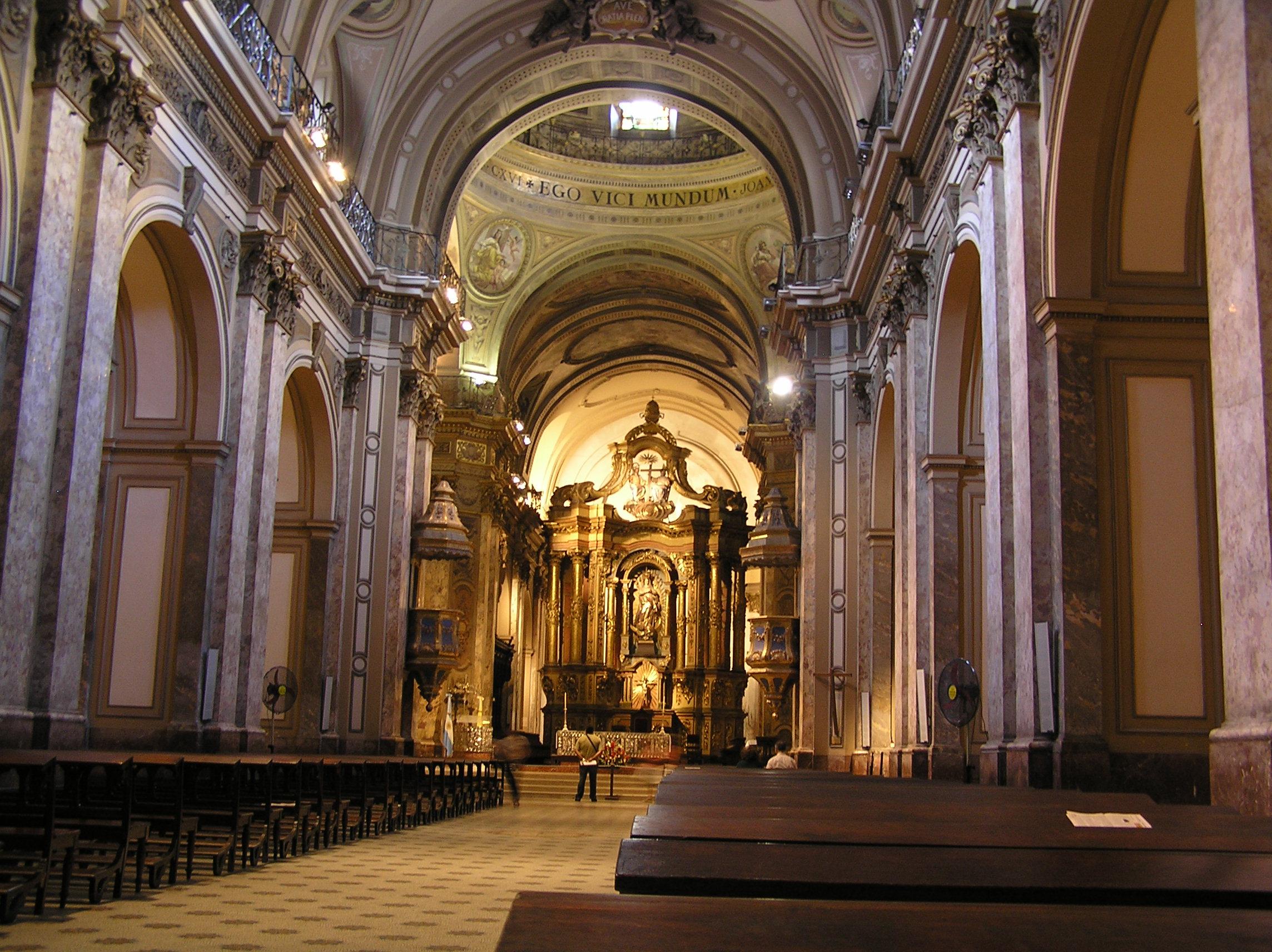 File 20060128 interior de la catedral metropolitana de for Catedral de zamora interior