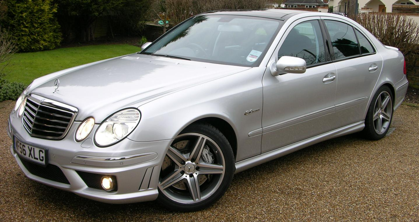 Mercedes-Benz E-Class (W211) - Wikipedia, the free encyclopedia
