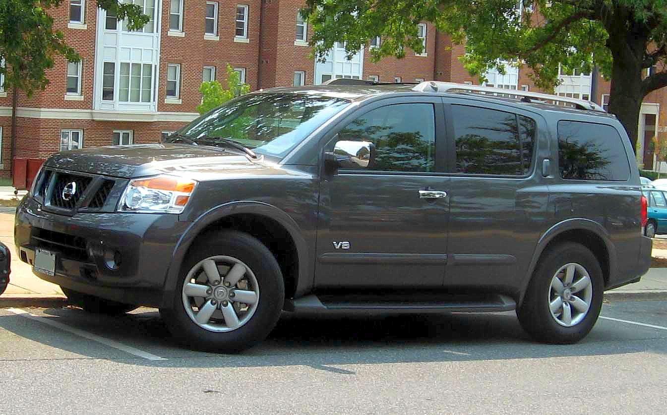 File:2008-Nissan-Armada.jpg - Wikimedia Commons