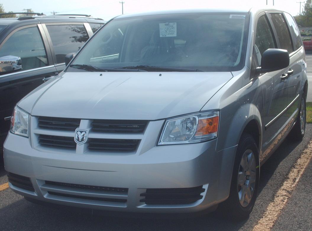 File:2008 Dodge Grand Caravan.jpg - Wikimedia Commons