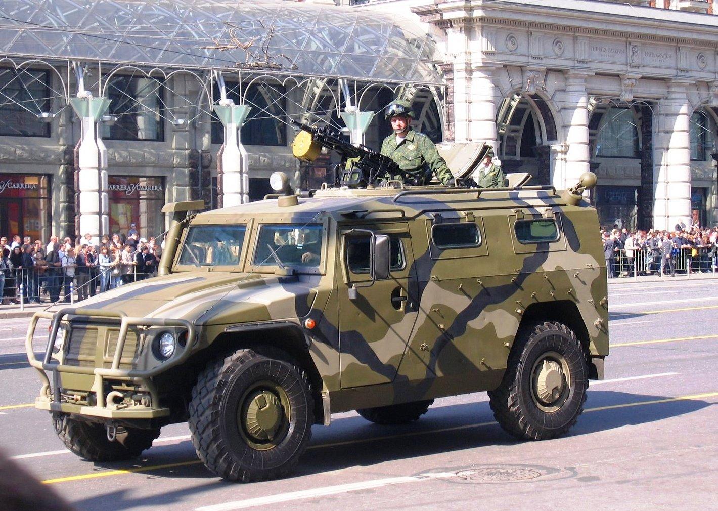 Russian GAZ Tigr
