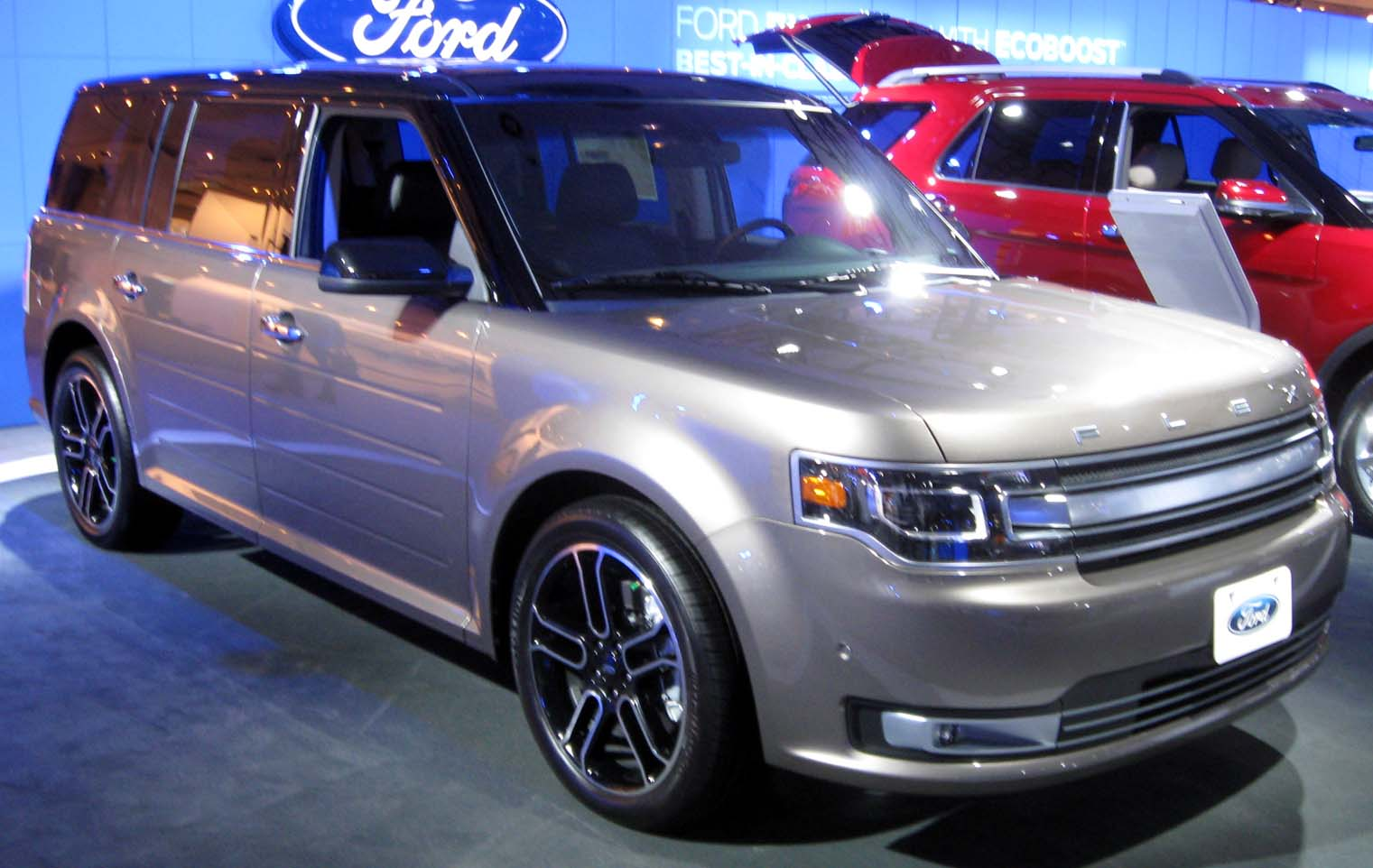 file 2013 ford flex 2012 nyias jpg wikimedia commons. Black Bedroom Furniture Sets. Home Design Ideas