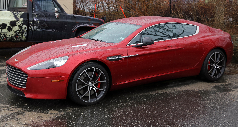 Carbon Fiber Wheels >> File:2014 Aston Martin Rapide S in Volcano Red, fL.jpg ...