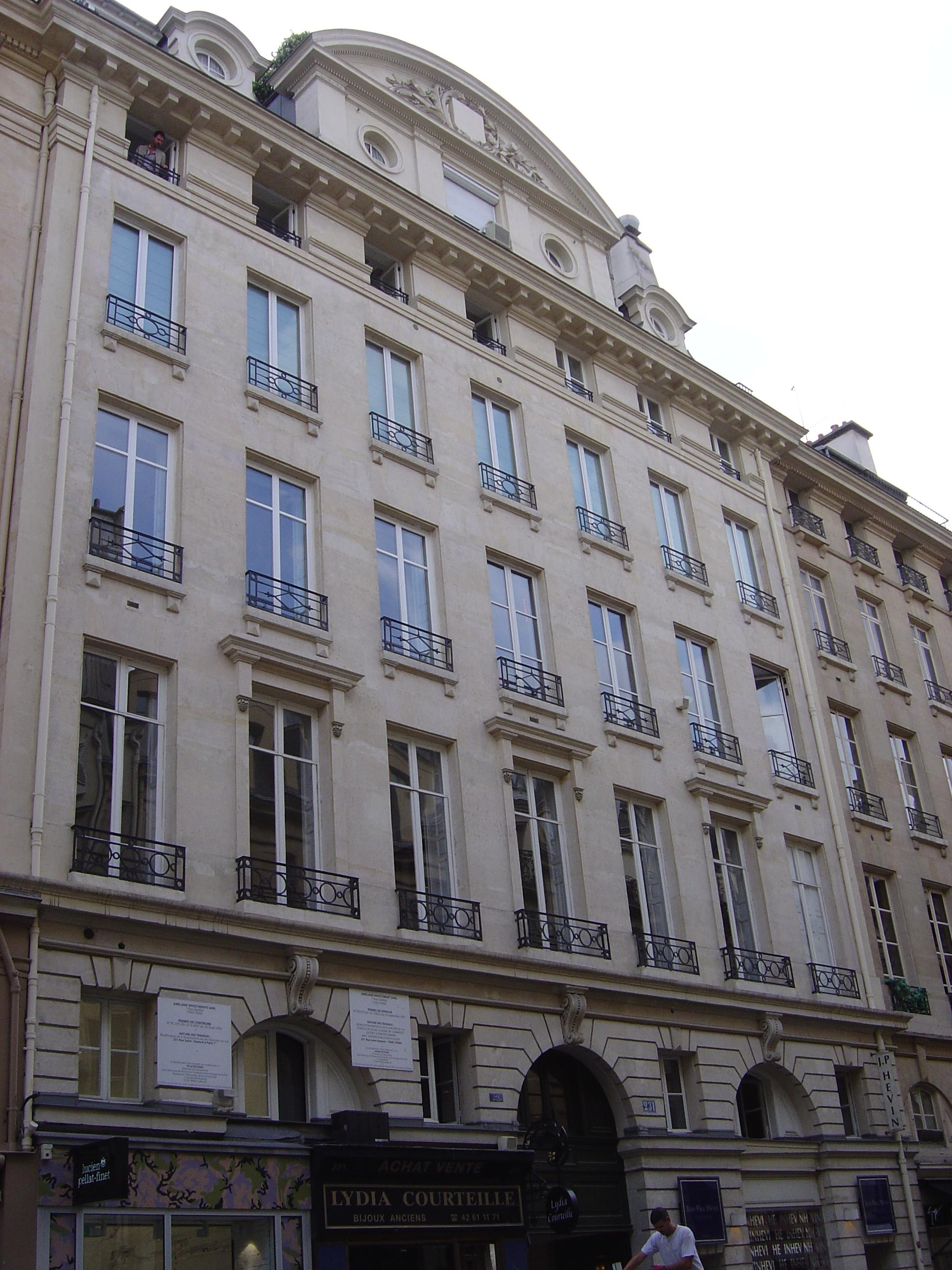 file 231 rue saint honor jpg wikimedia commons. Black Bedroom Furniture Sets. Home Design Ideas