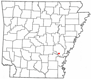 Loko di Gillett, Arkansas