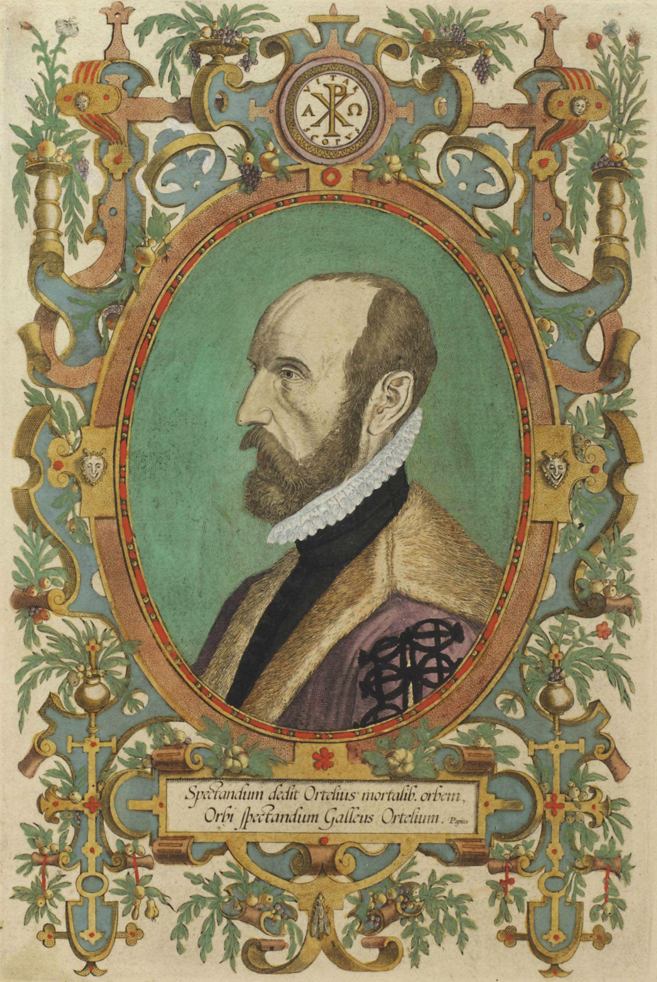 Depiction of Abraham Ortelius