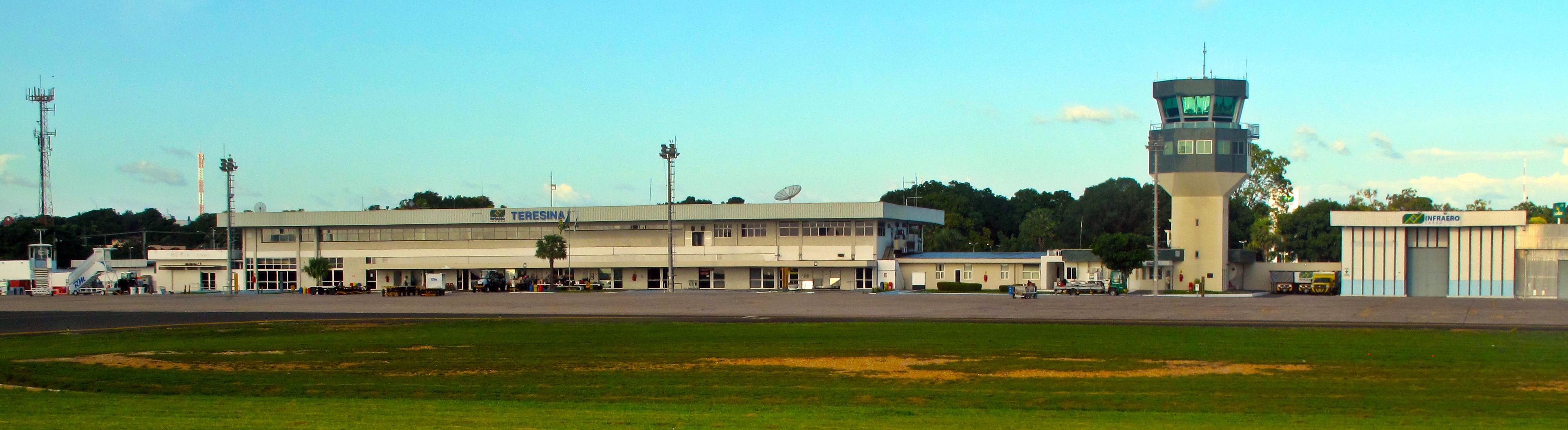 6baa6e239 Aeroporto Senador Petrônio Portella em Teresina.