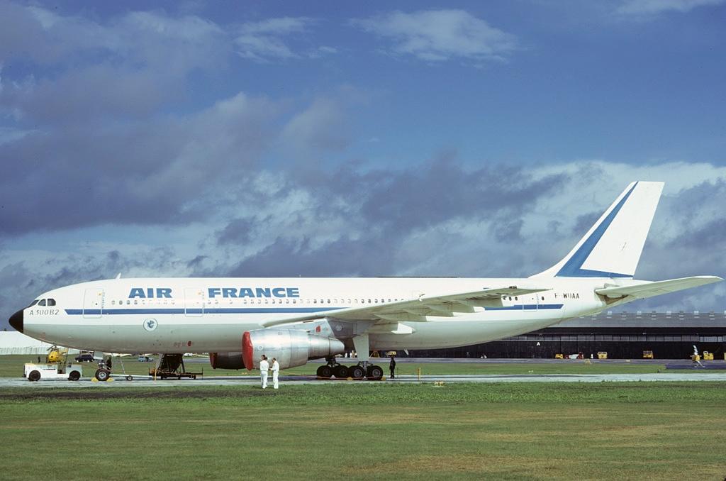 Airbus A300B2 1C%2C Air France AN0598358