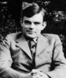 The pioneer of computer science, Alan Turing Alan Turing portre.jpg